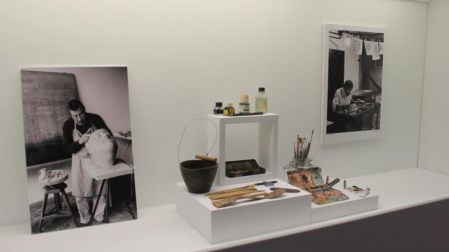 Objetos de Günter Grass.