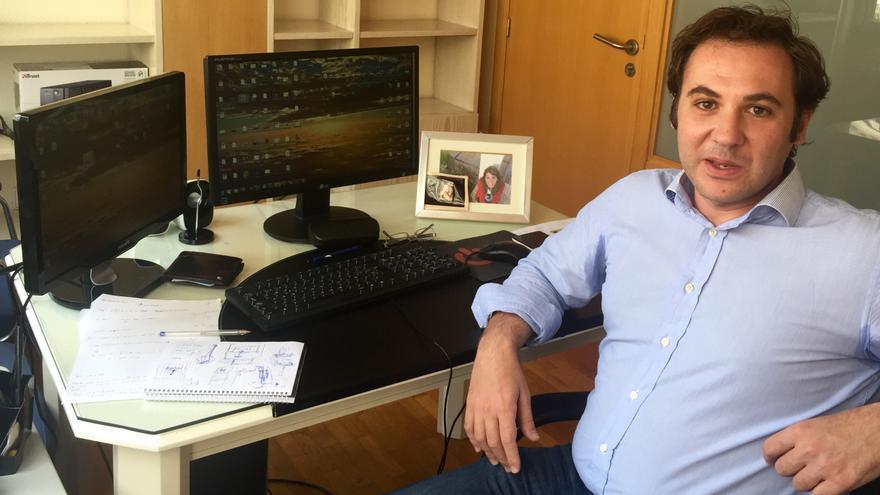 Carlos Peñafiel, número dos de Ciudadanos en Murcia / MJA