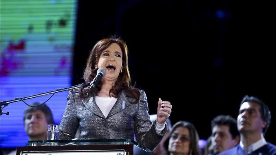 """Cristina Fernández dice que """"el trabajo sigue con más fuerza que nunca"""""""