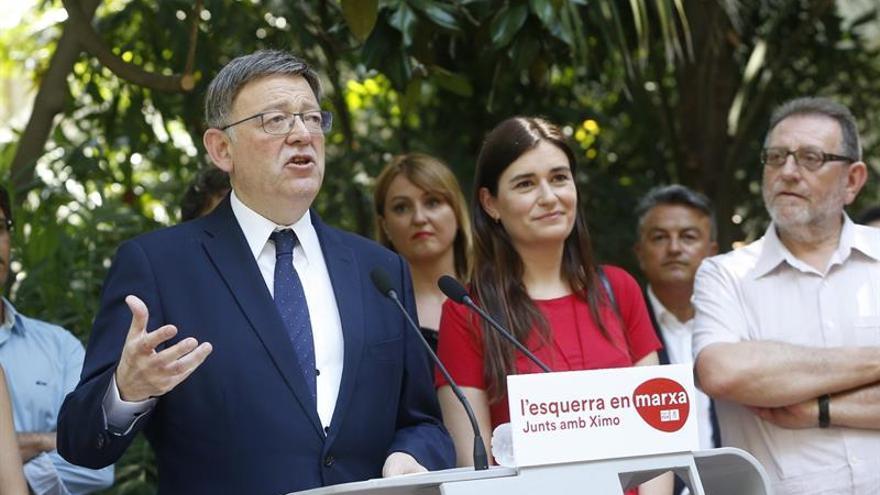 """Puig aspira a renovar la confianza de un PSPV """"más fuerte y unido"""""""