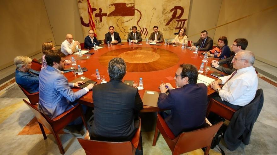 El Gobierno catalán dice que los locales de voto en Barcelona son semejantes a unas elecciones