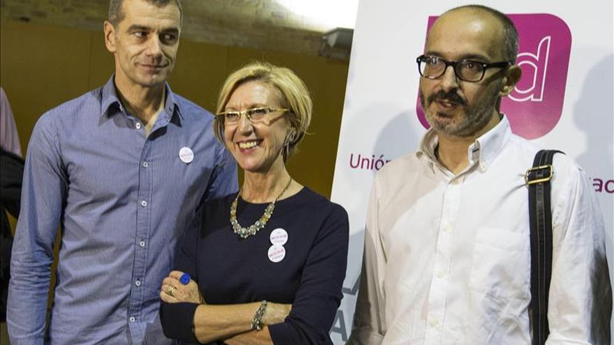 Díez (UPyD) no descarta pactos sobre temas concretos con PP, PSOE o Podemos