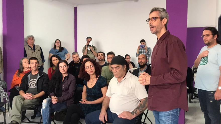 Intervención de José Luis Cabrera, candidato al Senado de Podemos por La Palma.