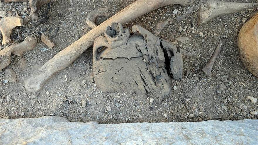 Hallada una necrópolis prehistórica en Sena (Huesca)
