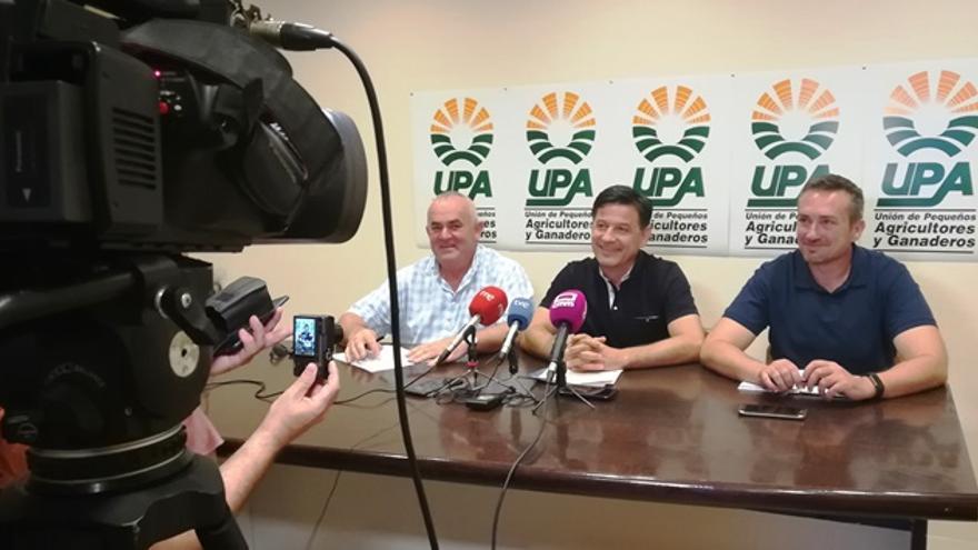 Rueda de prensa de UPA en Ciudad Real