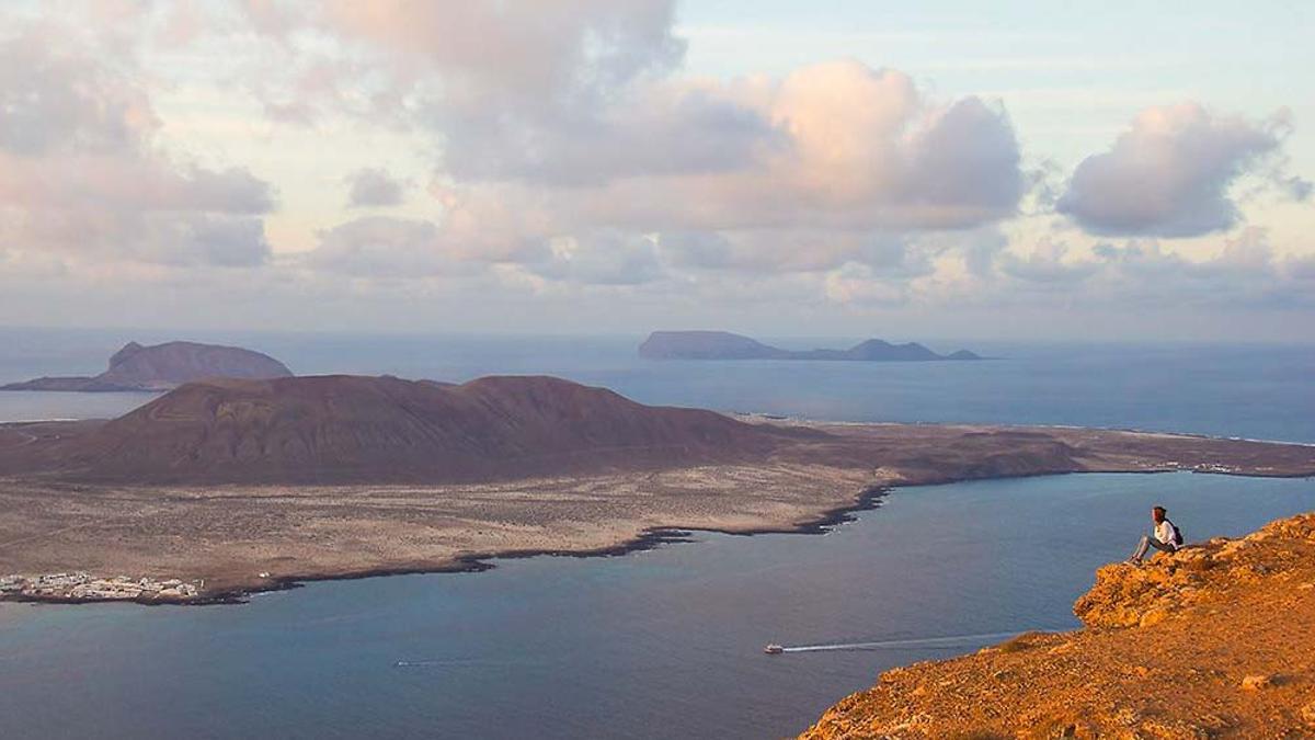 La Graciosa vista desde Lanzarote.
