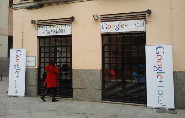 Local que ha abierto Google en el Dos de Mayo