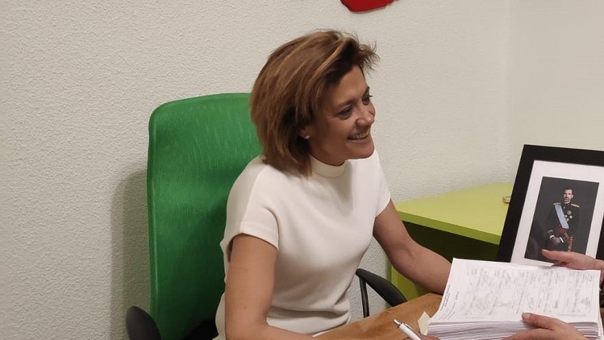 La presidenta de Vox Albacete, Rosario Velasco, tomará posesión como concejal en el Ayuntamiento de Albacete.