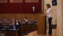 """El presidente andaluz logra el aval del PSOE y Adelante a su """"gran alianza"""" a costa del portazo de sus socios de Vox"""