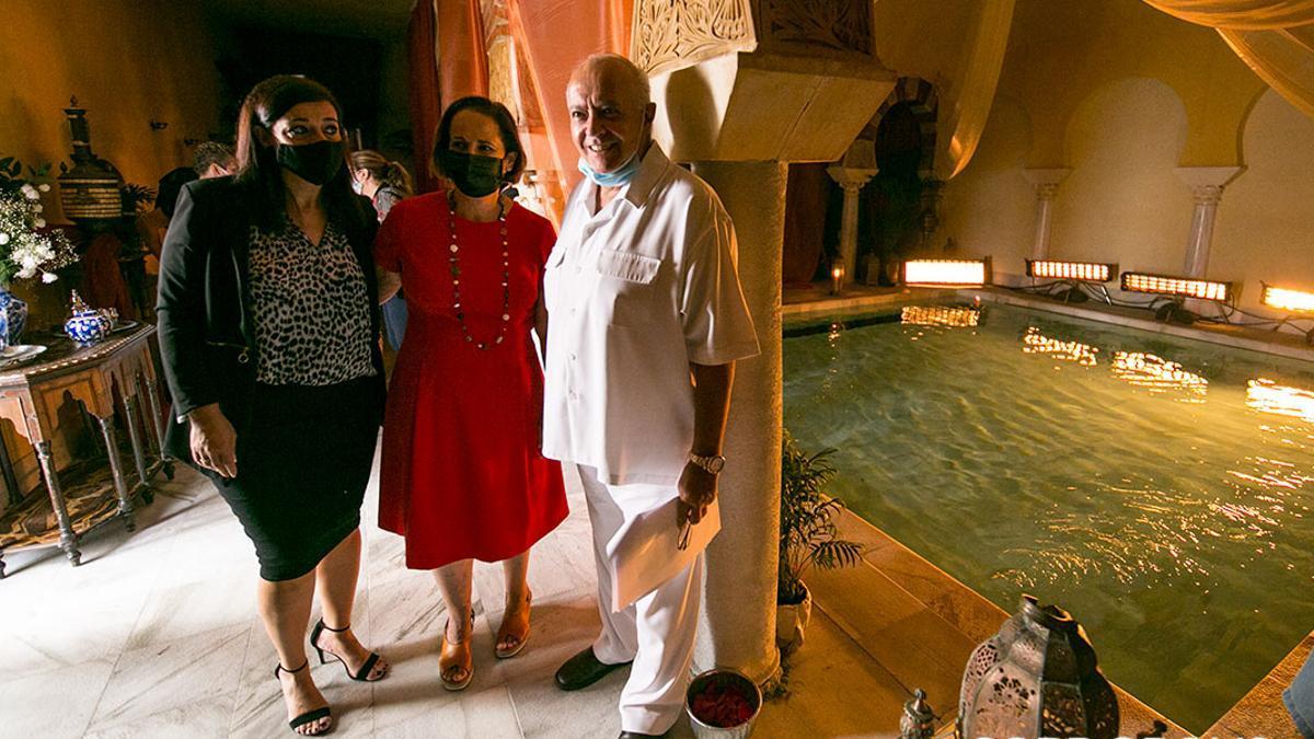 José Luis Moreno en el rodaje de 'Resplandor y Tinieblas' en Hammam Al Andalus   MADERO CUBERO