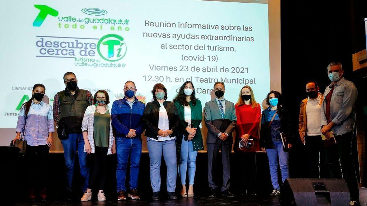 Reunión de la Junta con empresas de turismo del Valle del Guadalquivir.