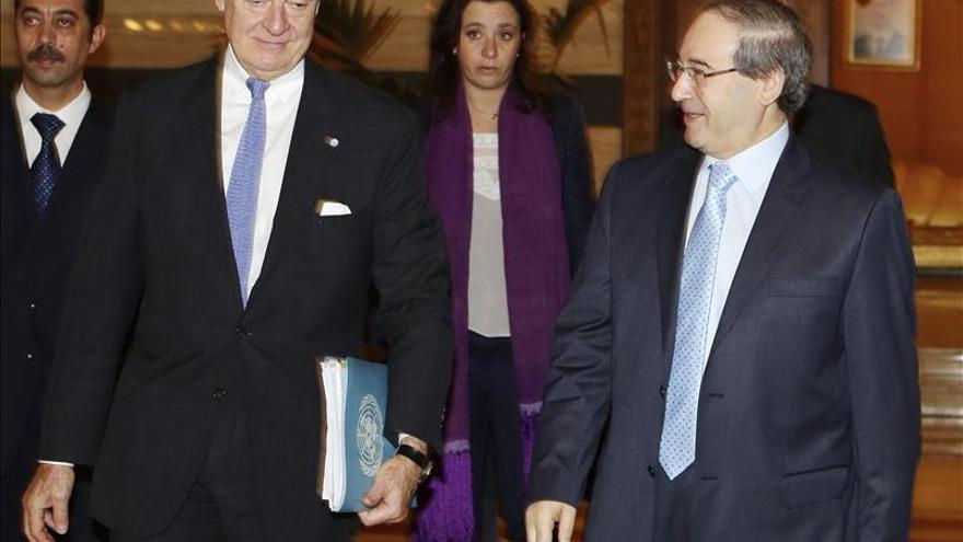 """Al Asad considera """"digno de estudio"""" el plan del enviado de la ONU para Siria"""