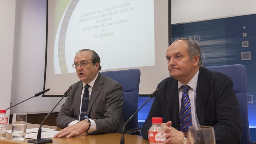 Cantabria y EcoEmbes destinan 120.000 euros a una campaña de reciclaje de envases, que ha subido un 11%