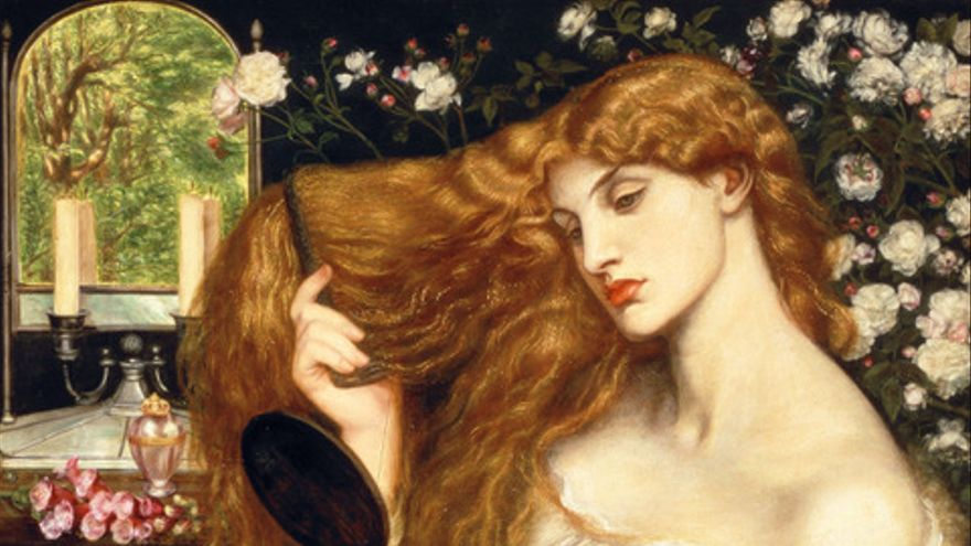 `Lady Lilith´, obra de Dante Gabriel Rossetti
