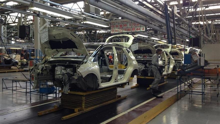 La planta de Renault en Valladolid.