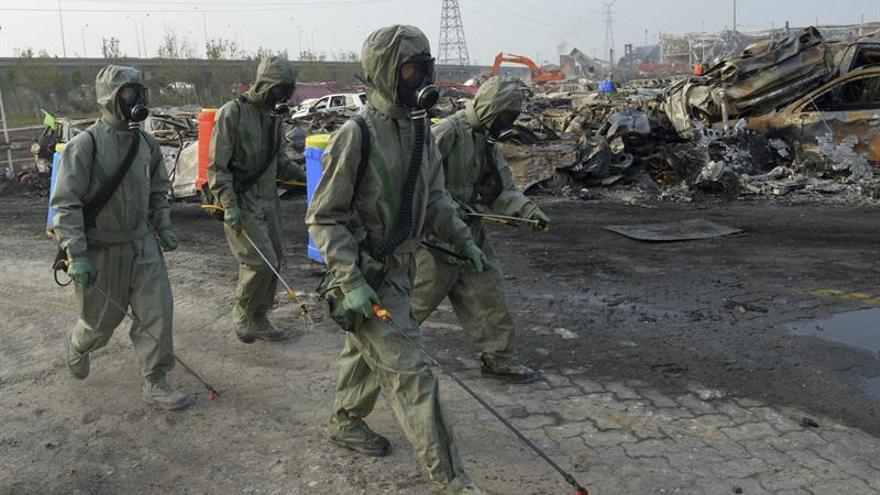 Dictan cadena perpetua para el dueño del almacén chino de Tianjin calcinado