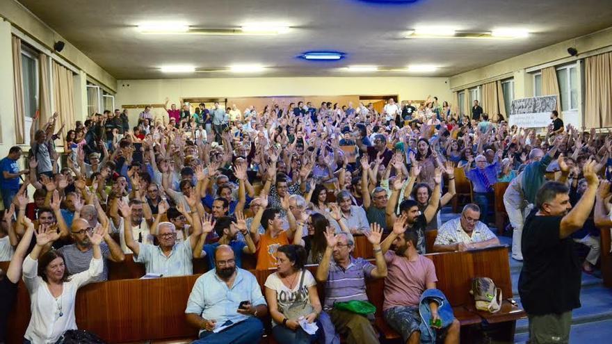 Primera Asamblea Estatal de Ahora en Común. / Foto: Agustín Millán
