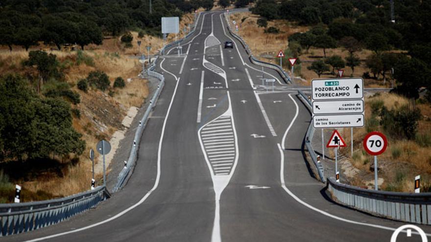 Carreteras de la Junta, en una imagen de archivo.