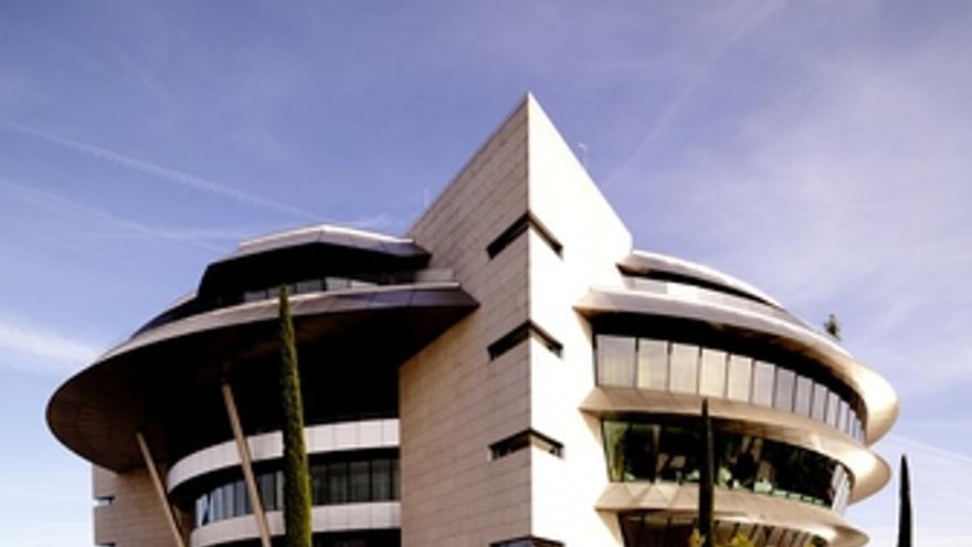 Sede del Banco Santander en Boadilla del Monte