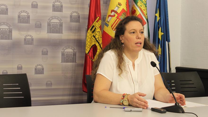 Carmen Yáñez, portavoz Ayuntamiento Mérida