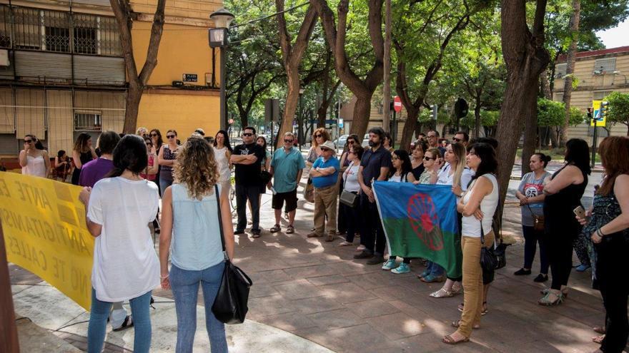 Manifestación en contra del antigitanismo: decenas de personas se congregan