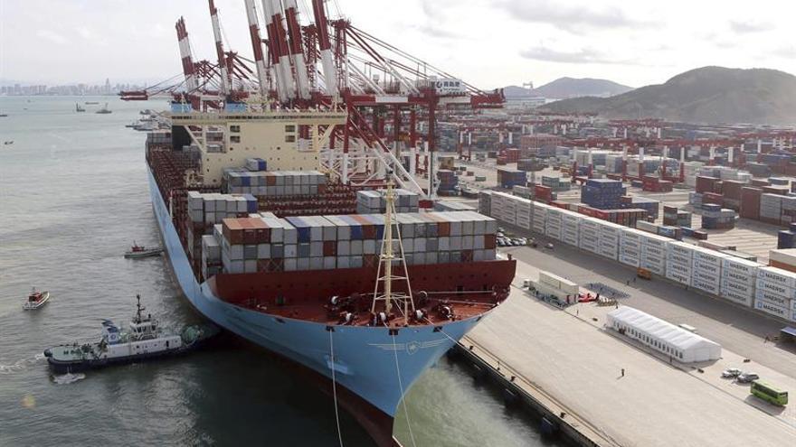 Las exportaciones chinas suben un 9 % en septiembre y las importaciones un 19,5 %