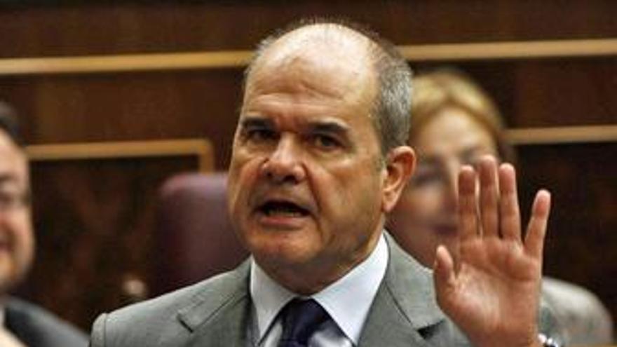 Manuel Chaves en el Congreso