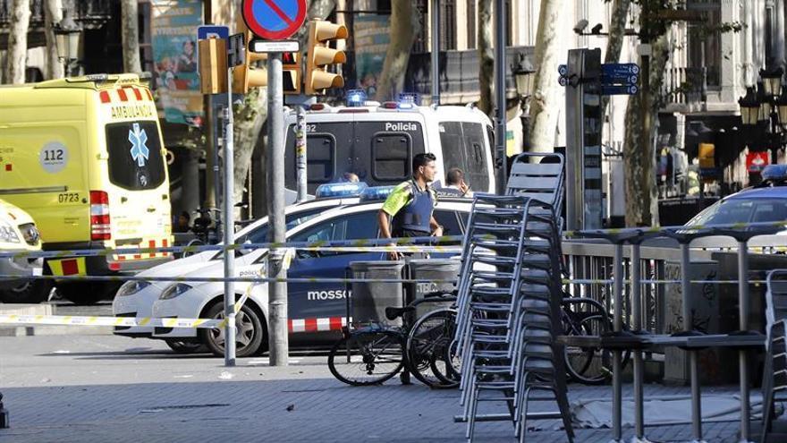 La argentina herida en el atentado de Barcelona regresa a su país
