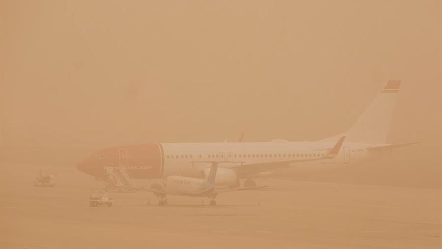 Baja visibilidad en el aeropuerto de Gran Canaria
