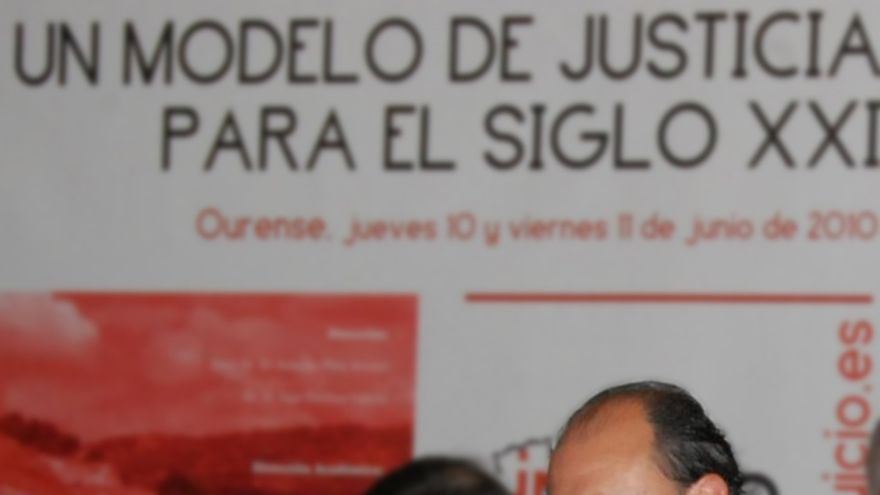 El fiscal jefe de Ourense, Florentino Delgado, en una imagen de archivo