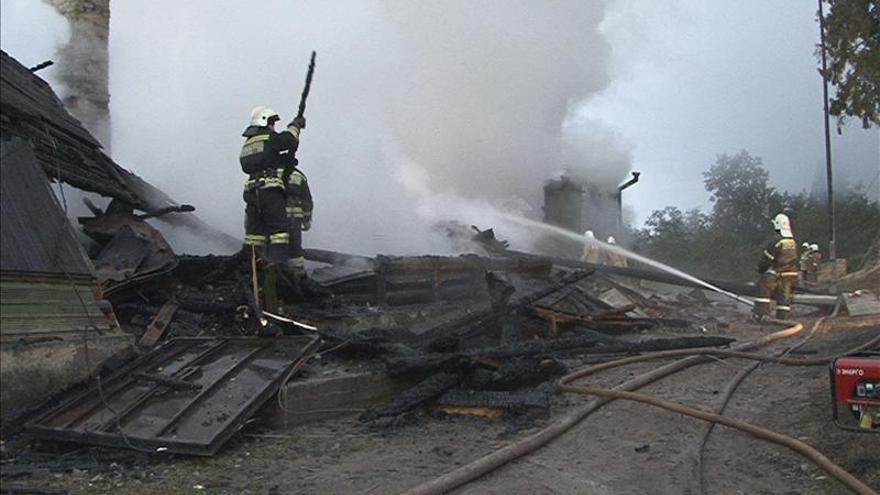 Cinco muertos en un incendio de una vivienda en la parte europea de Rusia