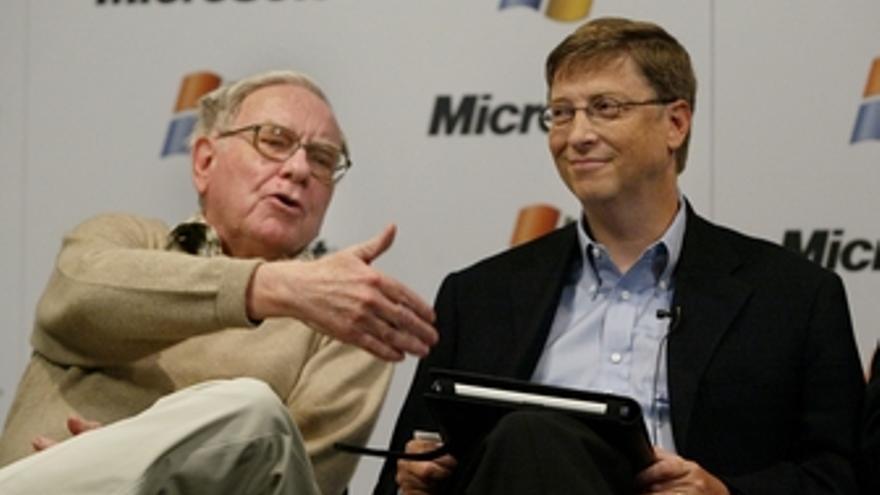 Warren Buffet y Bill Gates juntos