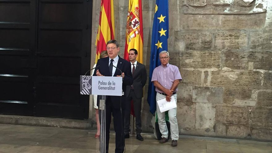 El presidente del Consell, Ximo Puig.