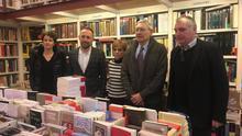"""Librería 'Lagun', foco de """"cultura, pensamiento crítico y libertad"""""""