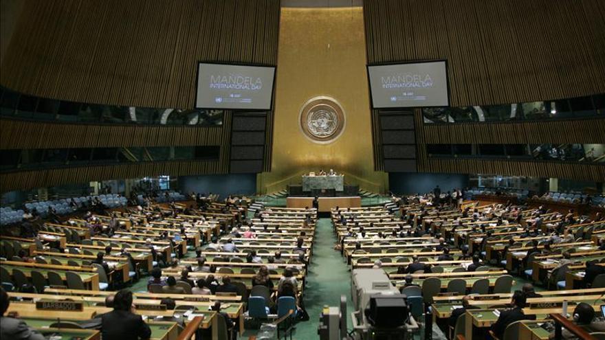 Palestina vota por primera vez en la Asamblea General de las Naciones Unidas