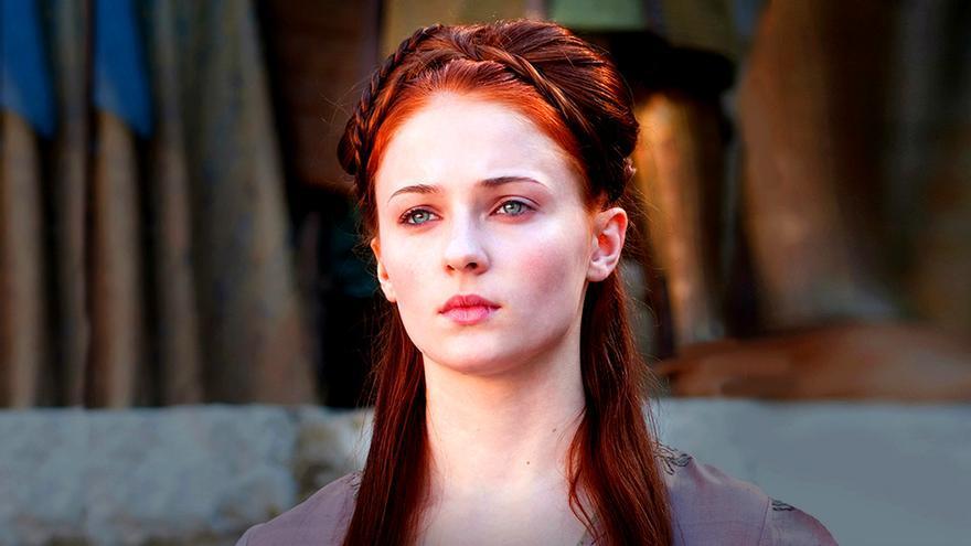 Sophie Turner desvela el secreto que guardan los peinados de Sansa en Juego de Tronos
