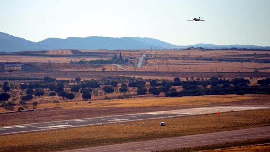 Aeropuerto de Ciudad Real FOTO: EUROPA PRESS