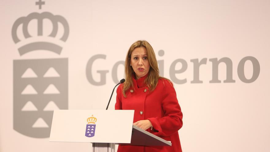 La consejera de Economía Rosa Dávila (ALEJANDRO RAMOS)