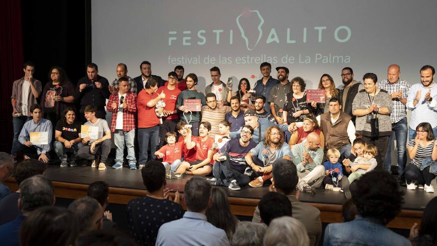 Premiados de 'La Palma Rueda'.