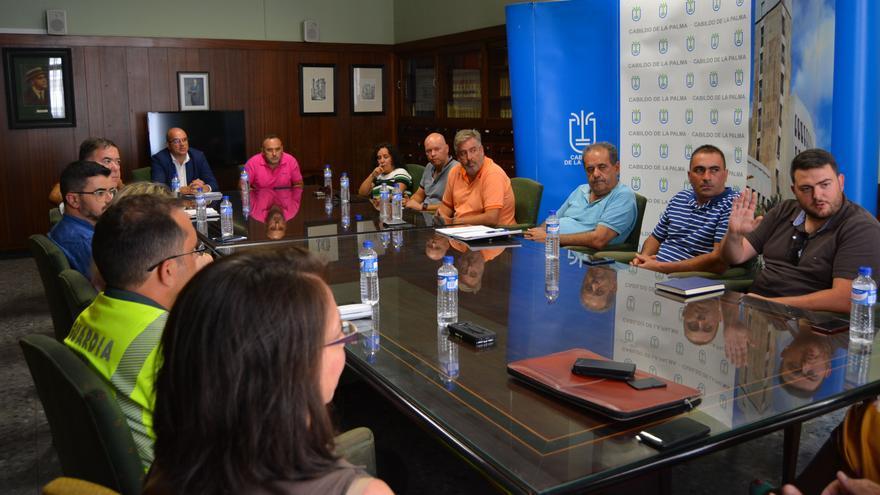 En la imagen, la reunión celebrada este martes.