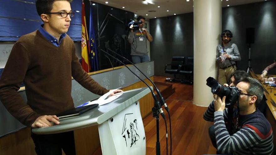 """Podemos ve en """"buena senda"""" para la investidura los últimos acuerdos con el PSOE"""