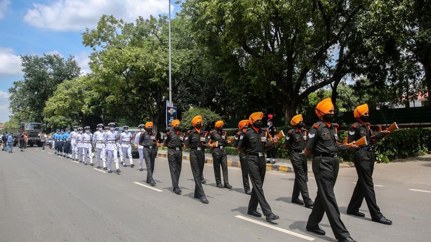 India se despide del expresidente Mukherjee entre restricciones por COVID-19