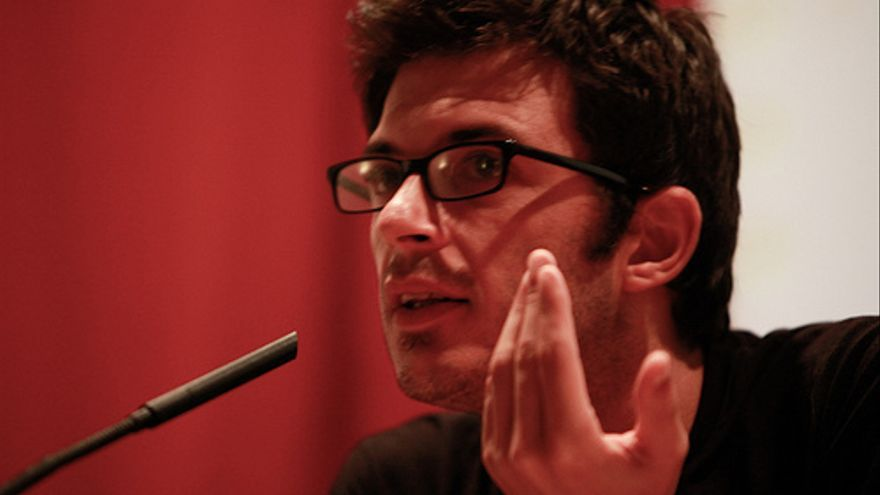Alberto Arce en el Encuentro Internacional de Foto y Periodismo de Gijón / Antonio Rull