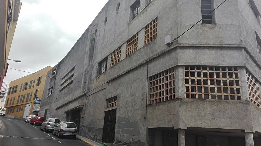Foto del antiguo cine de Tazacorte.