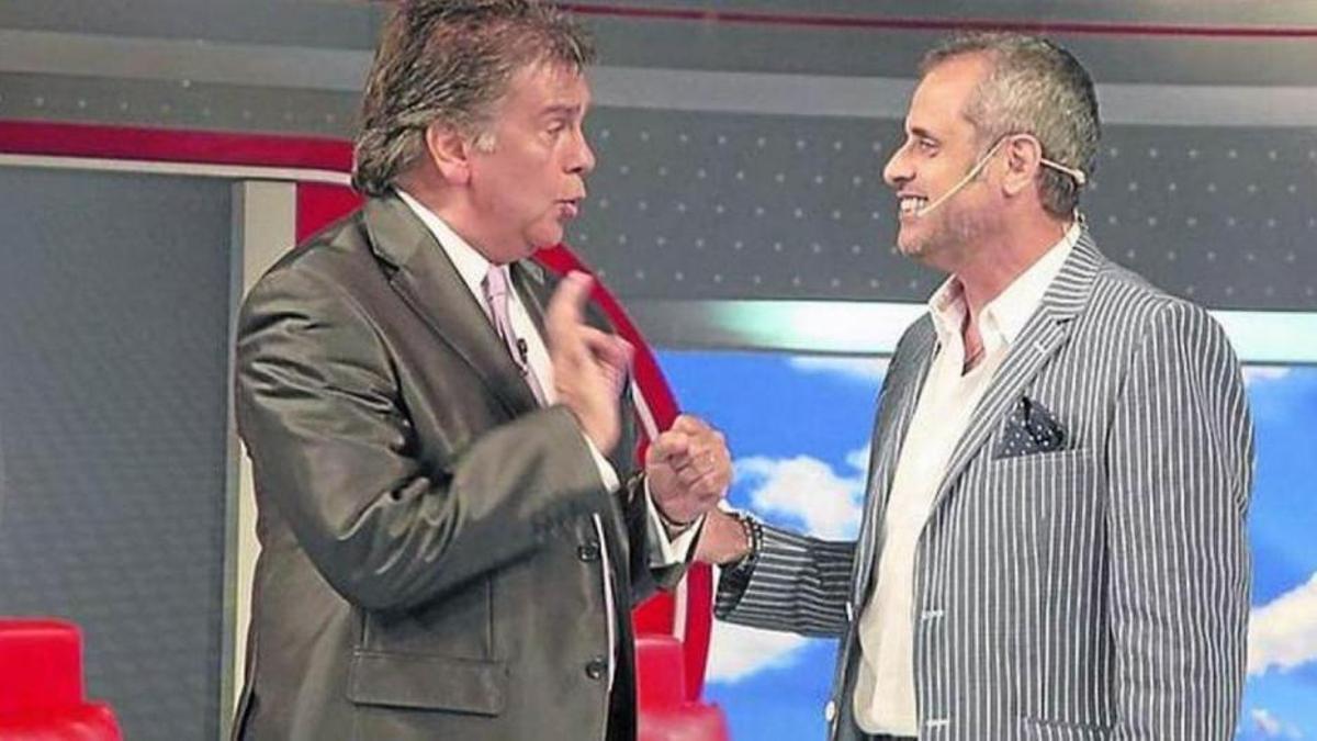 Luis Ventura y Jorge Rial, cuando compartían el piso de Intrusos.