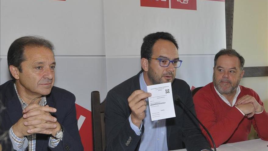 Hernando (PSOE): Gómez de la Serna está protegido por el PP porque sabe mucho