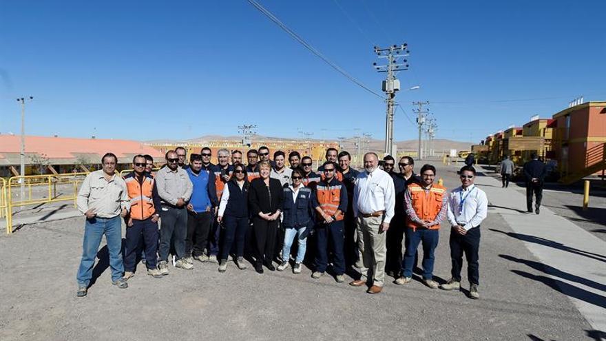 Inauguran en Chile un proyecto minero con una inversión de 1.900 millones de dólares