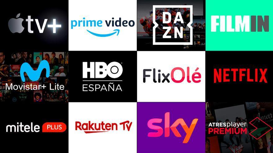 Amazon, Netflix... y ahora Apple TV+: qué ofrecen y cuánto cuestan las 12 plataformas en España