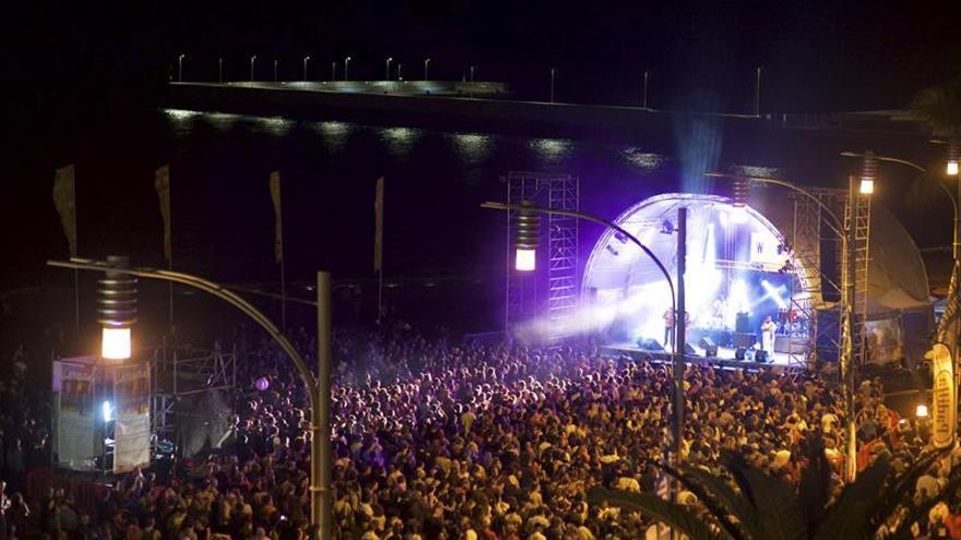 Primera jornada de conciertos del festival Womad Fuerteventura 2016, en Gran Tarajal
