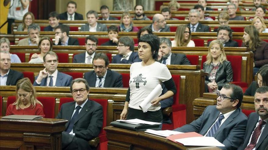 """La CUP afirma que la resolución quiere dejar atrás la Cataluña """"subordinada"""""""